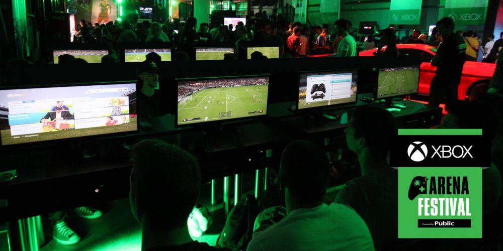 Xbox Arena Festival στις 18 και 19 Μαρτίου