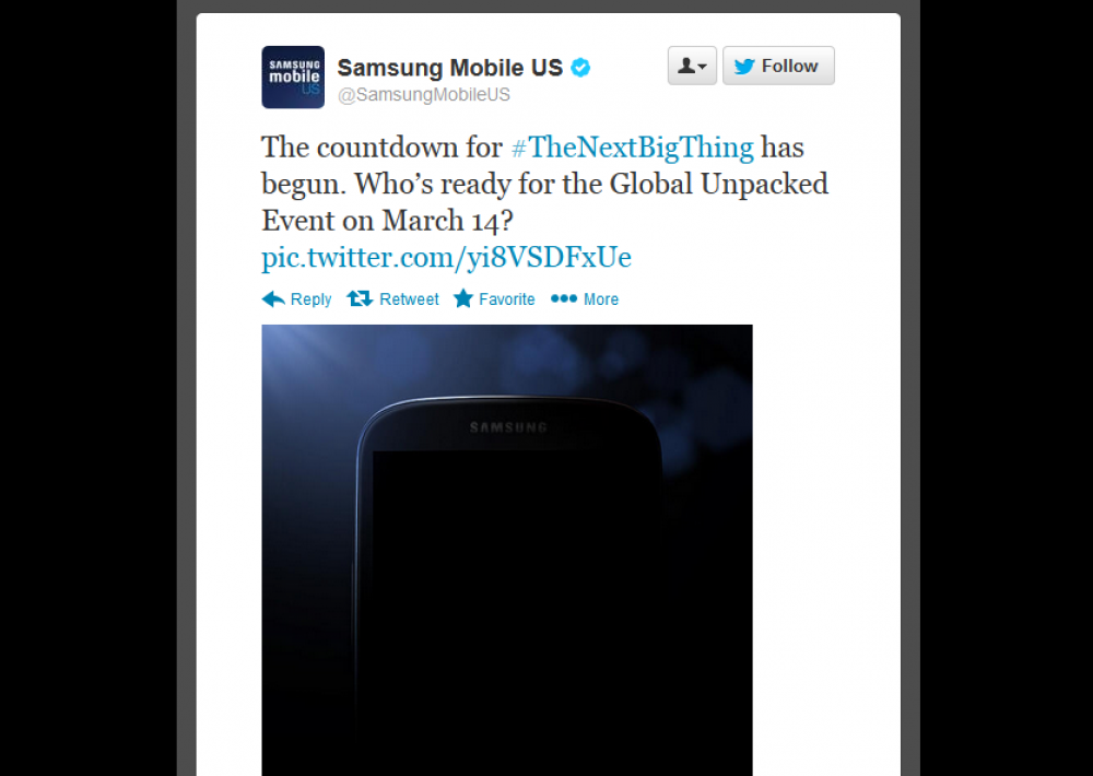 Ένα πρώτο δείγμα από το Galaxy S4;