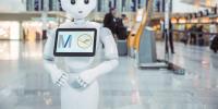 Ένα ανθρωποειδές ρομπότ τεχνητής νοημοσύνης σας περιμένει στο αεροδρόμιο του Μονάχου