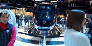 Το ελικοφόρο ιπτάμενο ταξί της Bell στην CES