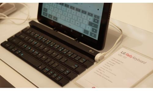 Rolly Keyboard: αναδιπλούμενο ασύρματο πληκτρολόγιο από την LG