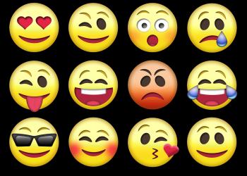 Παγκόσμια Ημέρα emoji ή Γερμένου Κεφαλιού