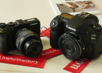 Canon: οι EOS 90D και EOS M6 Mark II εμπλουτίζουν τη γκάμα της
