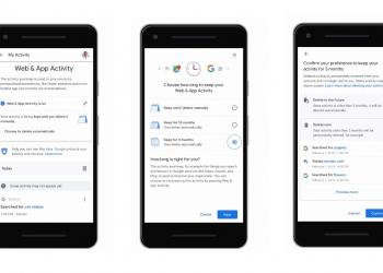 Google: ενεργοποιεί την αυτόματη διαγραφή δεδομένων τοποθεσίας και ιστορικού αναζήτησης
