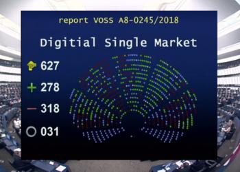 Όχι του Ευρωκοινοβουλίου στο στραγγάλισμα του διαδικτύου