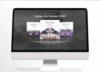 Πρώτη θέση στα αεροσκάφη της Emirates από τον υπολογιστή σου
