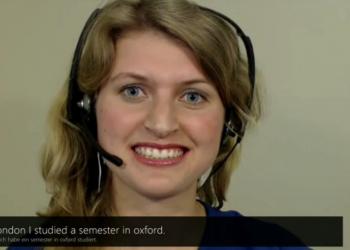 Μετάφραση σε πραγματικό χρόνο στο Skype