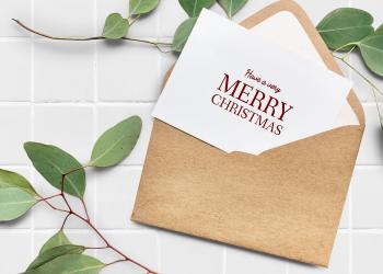 Οι ευχετήριες κάρτες των Χριστουγέννων