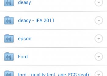 Dropbox app για Android & iOS