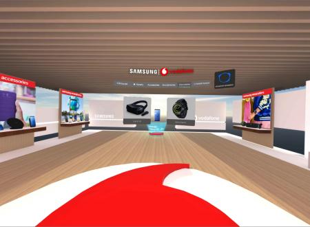Tο πρώτο Virtual Reality κατάστημα στην Ελλάδα από τη Vodafone και τη Samsung