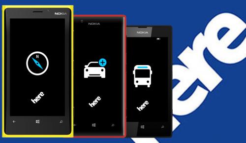 Τρεις παίκτες για τους χάρτες της Nokia