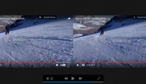 Σταθεροποίηση βίντεο από το Google Photos