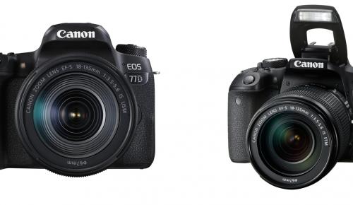 Νέες EOS 77D και EOS 800D από την Canon