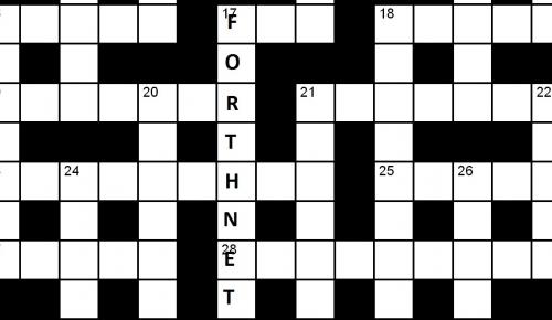 Forthnet: σταυρόλεξο για δυνατούς λύτες