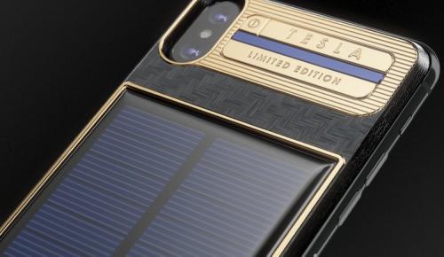 Ένα iPhone X που φορτίζει με τον ήλιο, αποκλειστικά για τον Elon Musk