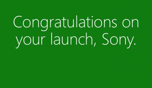 """""""Συγχαρητήρια Sony για το λανσάρισμα του PS4"""""""