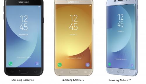 Nέα σειρά smartphones Samsung Galaxy J