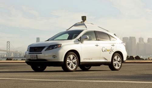 Τα αυτόνομα αυτοκίνητα της Google και οι αριθμοί τους