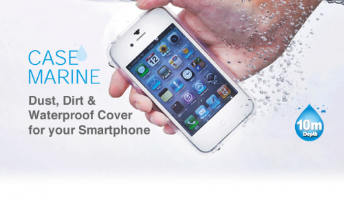 Αδιάβροχη προστασία για iPhone 4/4S και Samsung Galaxy SII/SIII