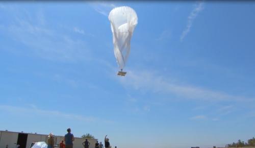 Επικοινωνία με τη χρήση των «μπαλονιών» της Google στο Πουέρτο Ρίκο